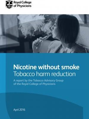 Royal College of Physicians Report on Vaping and Health
